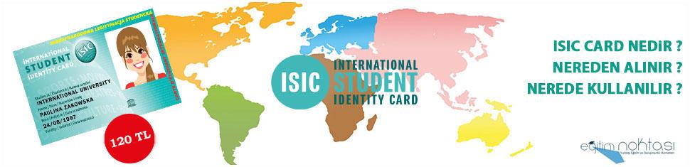 ISIC Uluslararası Öğrenci Kartı