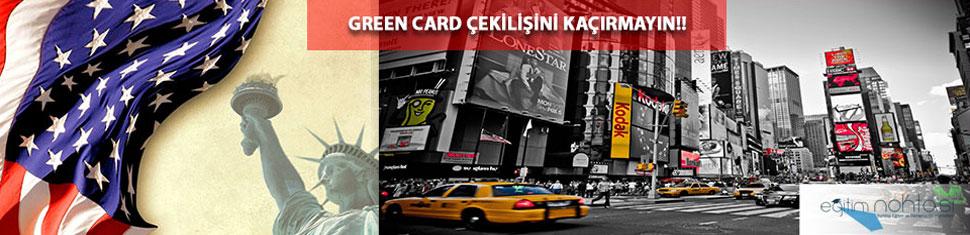 Green Card Amerika Çekilişi